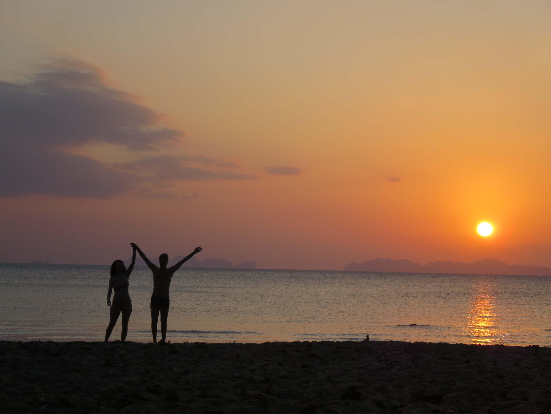 Sonnenuntergang auf Koh Jum